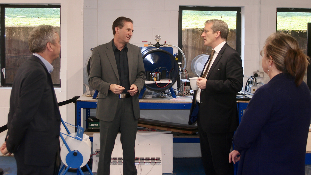 Secretary of State for Education visits Prismatic